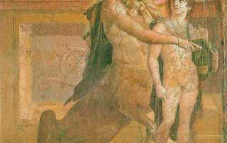 Chiron und Achilles, Quelle: commons.wikimedia.org